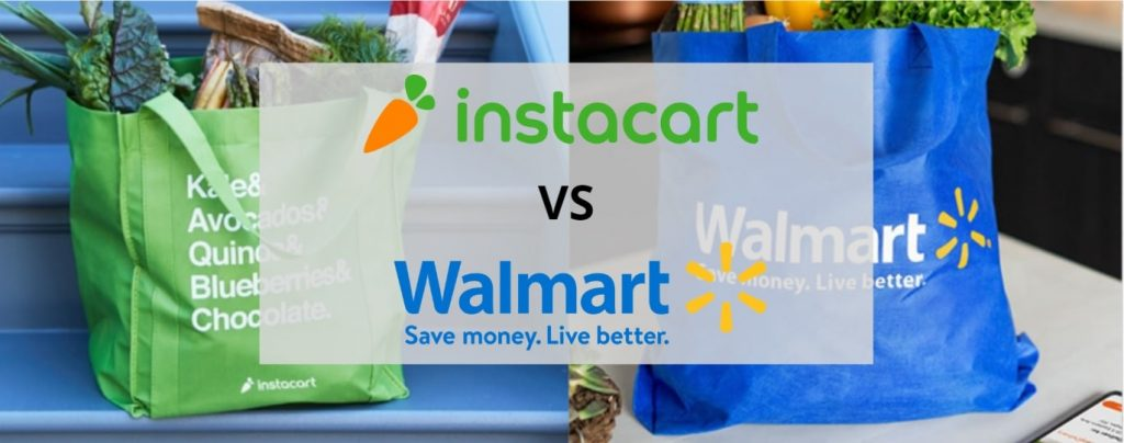 Instacart vs Walmart Delivery Grocery delivery comparison