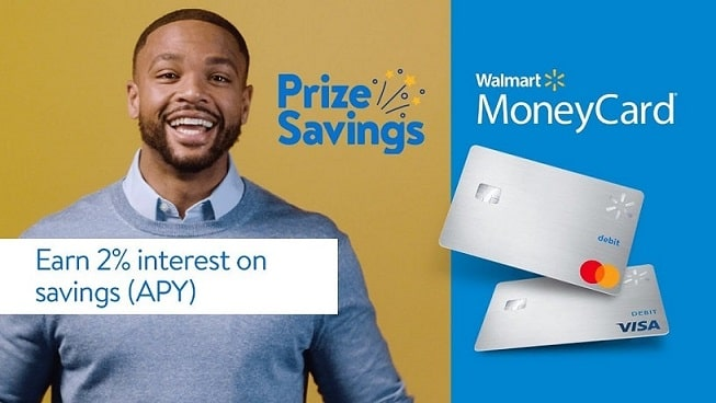 Earn interest with Walmart Card