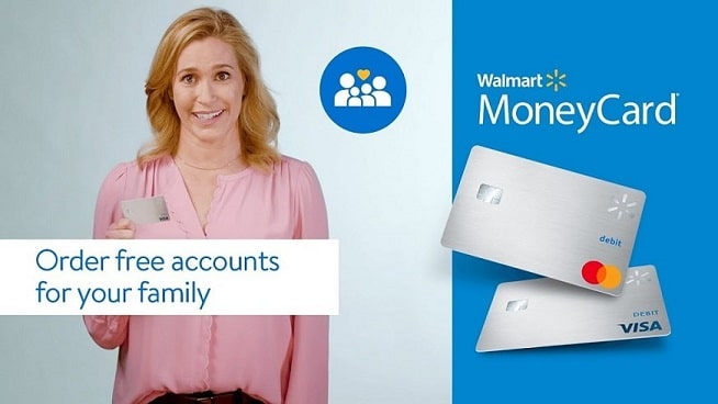 Walmart Moneycard family members
